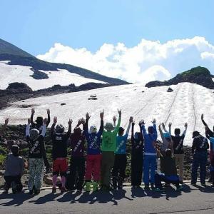 乗鞍大雪渓コブ祭り2021。