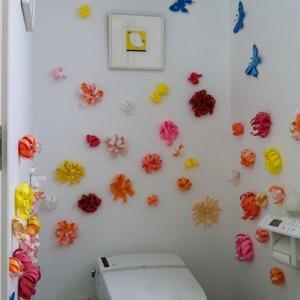 <昔の写真>娘が2歳半頃のトイレ