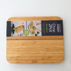 なんて便利‼ 折れる竹のまな板。