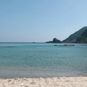 美しすぎる竹野浜の海 & 城崎温泉の外湯とオシャレなカフェ。