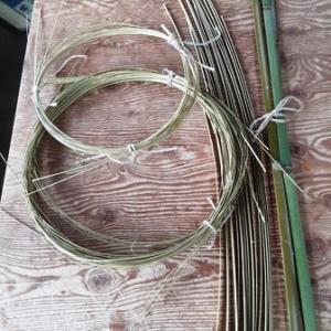 竹のランプシェード作り