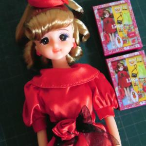 50周年リカちゃんのミニチュアパッケージ