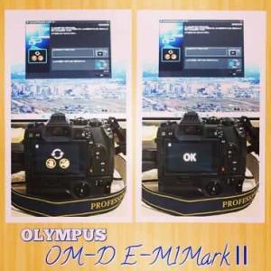 OM-D E-M1 Mark II のファームアップをしました