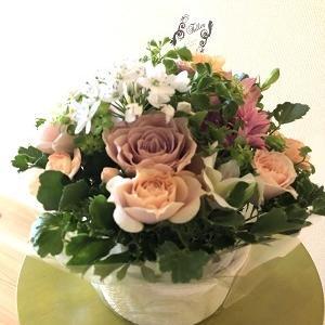 お花を愛でてほがらかに