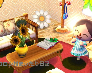 春が待ち遠しい部屋♪