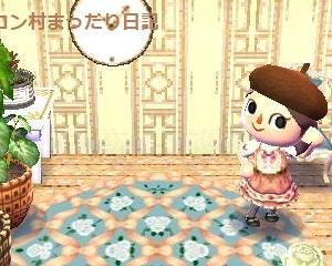 ファブリック&薔薇のワンピ☆マイデザイン