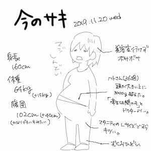 今のサキ(妊婦ver.)