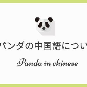 パンダを中国語でどう呼ぶ?パンダを使った中国語も紹介。