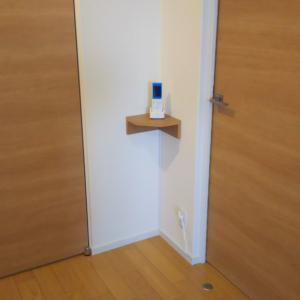 【DIY】ホールにピッタリだった無印良品のコーナー棚