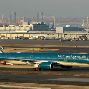 羽田空港インタミ さてそろそろ中に入るかな