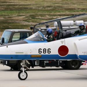4月の遠征は松島 1番機5番機もタキシーアウト
