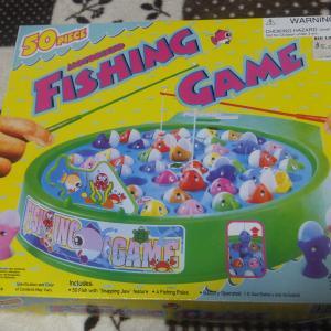 お家で魚釣り?!