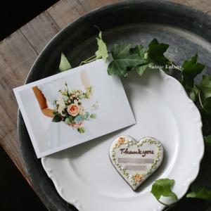 wedding引菓子❤【お花柄のハートメッセージクッキー&ビールのお供に塩味パイ】etc.