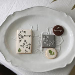 5周年記念プレゼントご依頼♪【tsumugi.ショップカードクッキー】