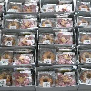 お嬢様ご誕生♡【内祝いお菓子】兵庫県からのご注文♪クローバー・鳥・ト音記号も詰め合わせ