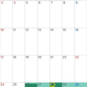11月の歩数(DQウォークの進捗)