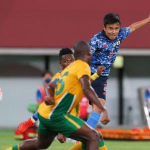 日本vs南アフリカ@東京五輪