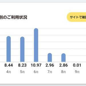 今月も大幅な節約に成功、月4万が2万円に!