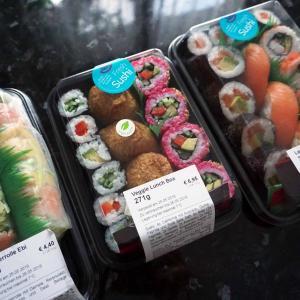 お寿司と生春巻き