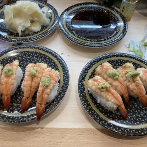 寿司を貪りながら今後の人生に考える考える(´·ω·`)