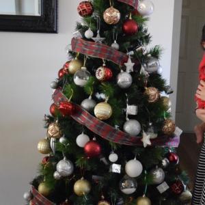 2歳半の娘のがいても諦めないクリスマスツリー!今年はこんなになりました。