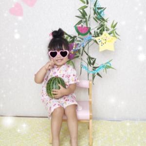 笹の葉さ〜らさら〜♪ 2歳児の七夕