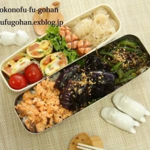 今日の3色丼弁当&豚キムチ炒飯DEおうちバル(^_^)v
