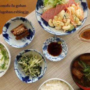 常備菜を使いまわして、朝ごはんやら~お弁当(#^.^#)
