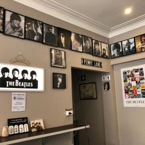 ビートルズの流れていないビートルズカフェ