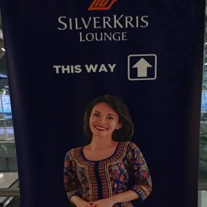 スワンナプーム空港コンコースDにあるシンガポール航空ラウンジの私の過ごし方