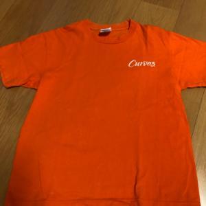 新しいTシャツで