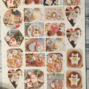 【プレゼント企画】アイシングクッキーシールプレゼント♡