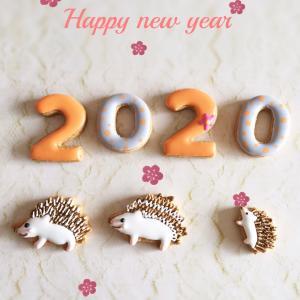 新年のご挨拶♡今年アイシングクッキーmilkteaを宜しくお願いします^_^