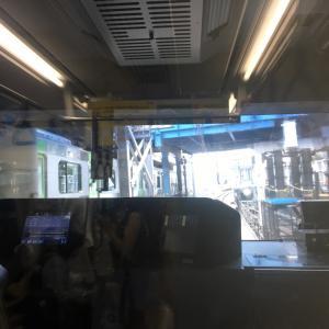 湘南新宿ラインに乗って、大宮駅へ!!(2019/09/22)