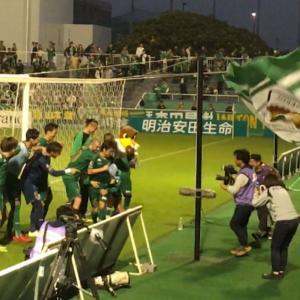 東京ヴェルディ・勝利のラインダンス(2018/10/19)