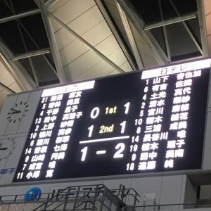 2019なでしこリーグ第11節・vs千葉L戦(試合結果・2019/09/23)