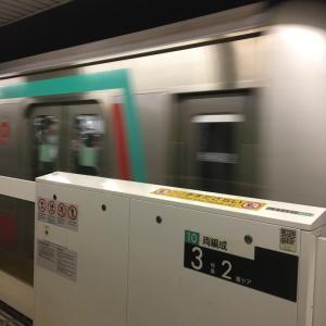東急田園都市線に乗って、九段下駅へ!!(2019/11/21)