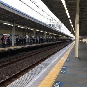 西葛西駅に来た。(2019/11/21)