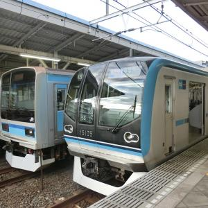 西葛西駅にて撮り鉄なのだ!!(2019/11/21)