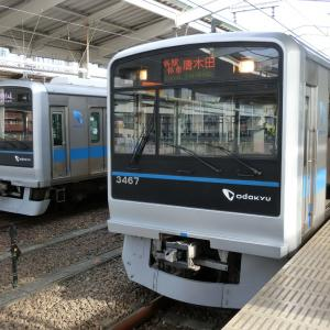 小田急多摩センター駅で撮り鉄ですよぉ!!(2020/01/12)