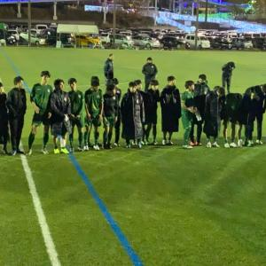 U-17新人戦・vsFCトリプレッタY戦(試合結果・2020/01/19)