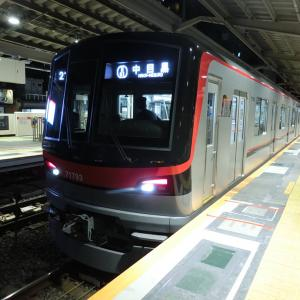 東武70090型(71793F)の回送列車 in 中目黒駅 2020/04/18
