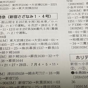 鉄道ダイヤ情報6・7月合併号に載ってるイベント列車情報が熱い!!