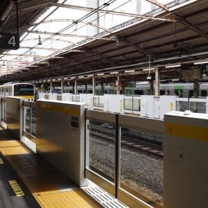 代々木駅(3・4番線)のホームドアが稼働しました!!
