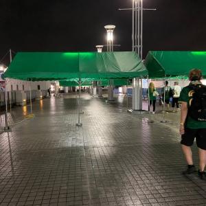 味の素スタジアムから撤収します。(2020/07/25)