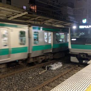 勝った試合の帰りの電車はこちら(2020/09/27)