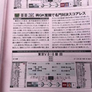今日のエルゴラッソ 10/21 vs磐田戦(HOME)の試合レポ記事が掲載!!