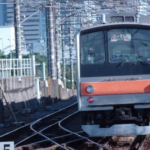 [配給輸送] ジャカルタ行き武蔵野線205系(M20編成)をけん引するEF81型140号機
