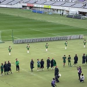 2020 J2第35節・vs山口戦(試合結果・2020/11/22)