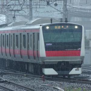 JR蘇我駅にて撮り鉄なのだ!! (2021/06/19)